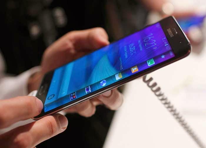 Novo Phablet da Samsung tela curva