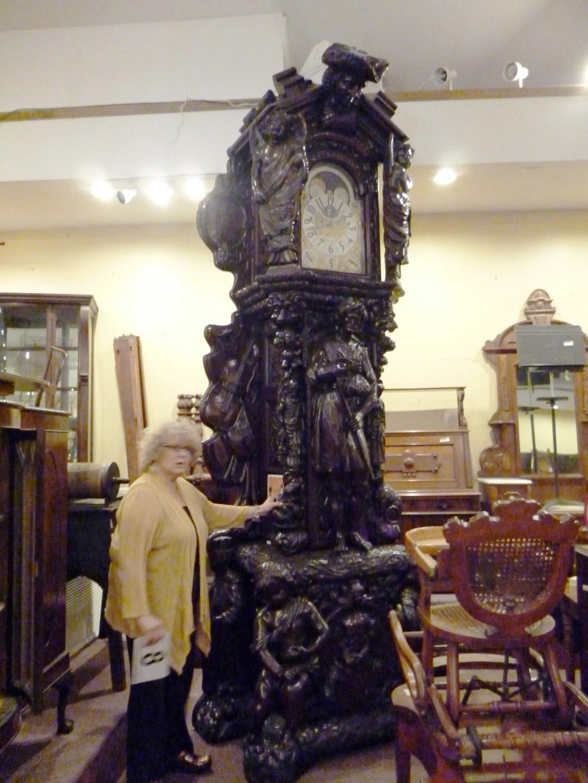 monumental grandfather clock - Grandfather Clocks