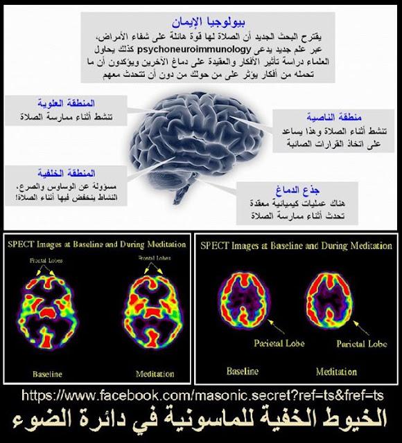 الصلاة ليست فقط عبادة وعلاج وتحصين ووقاية...ولكنها تعيد برمجة الدماغ علميا؟