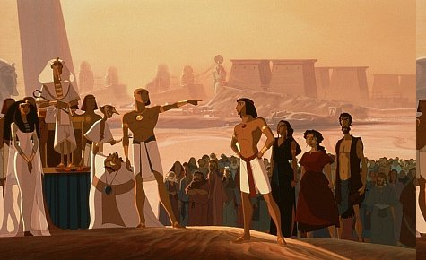 The Prince of Egypt (1998)   Films English Dubbed