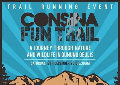 Consina Fun Trail Running 2015, Lomba lari trail bogor