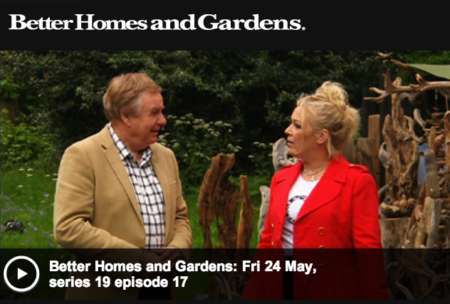 Phillip johnson landscapes better homes gardens visits rhs chelsea flower show Better homes and gardens episodes 2016