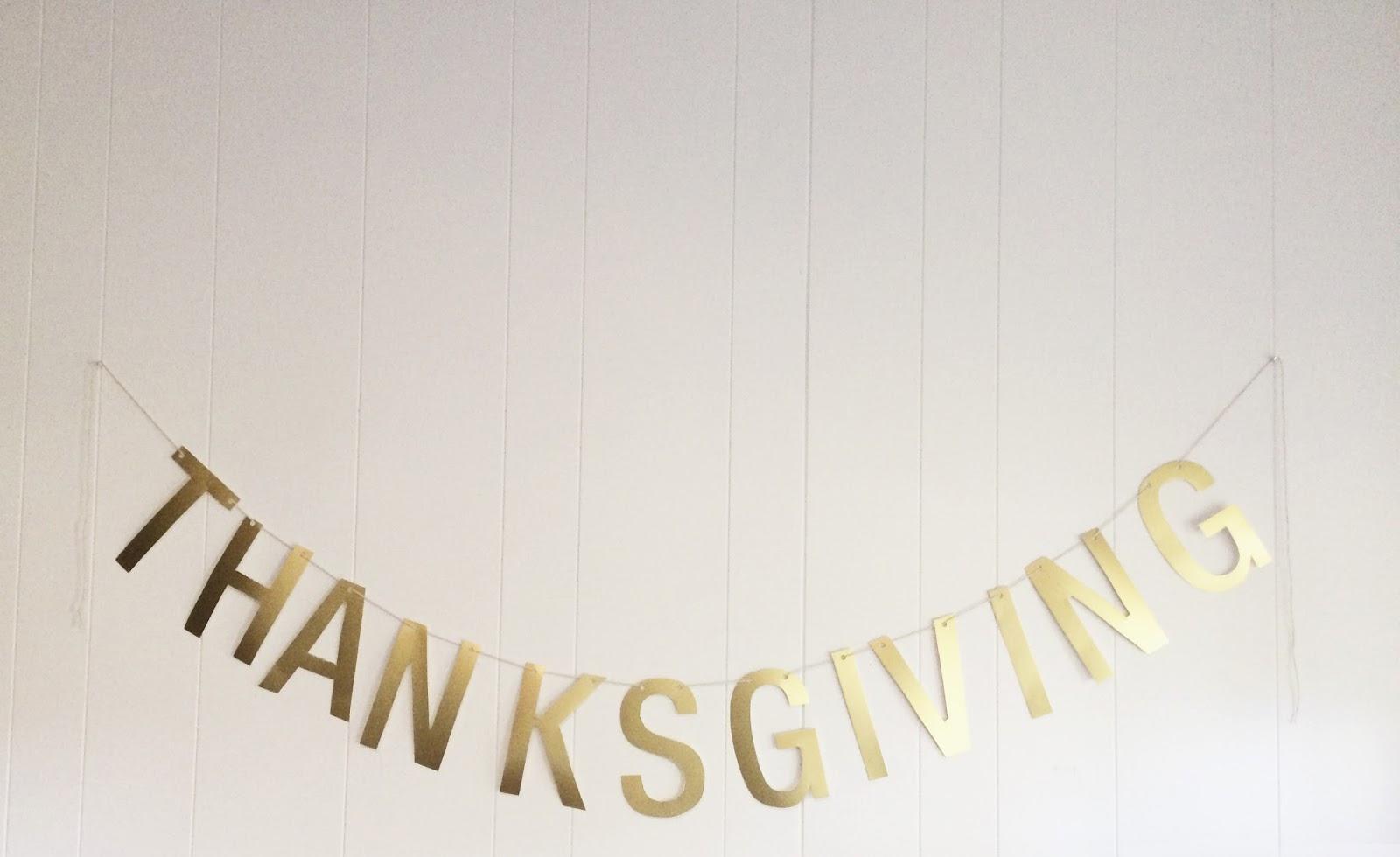 Cinsarah: DIY Easy Thanksgiving Banner