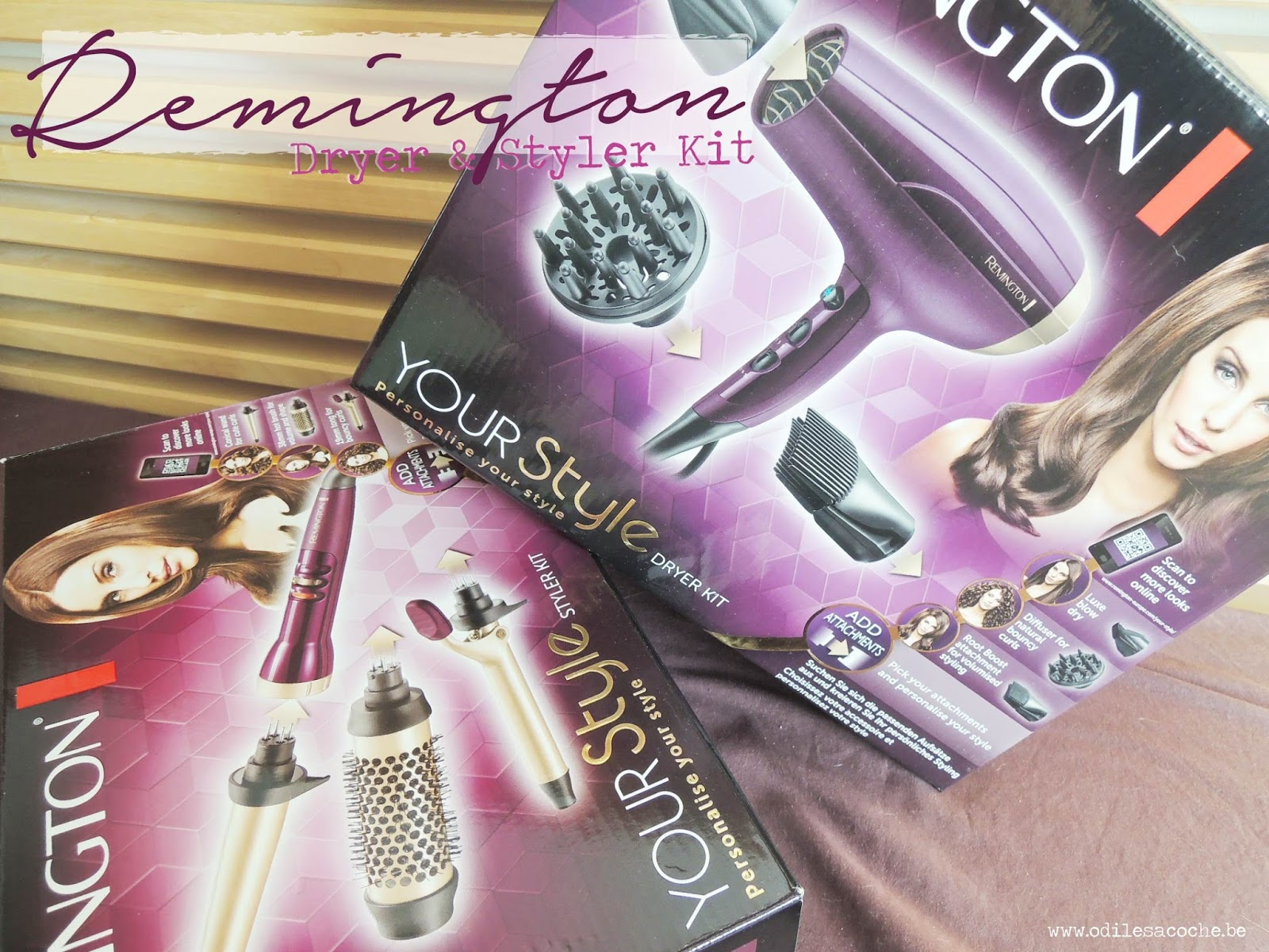 sèche cheveux fer a boucler remington