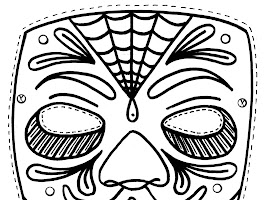 Day Of The Dead Sugar Skull Drawings Easy