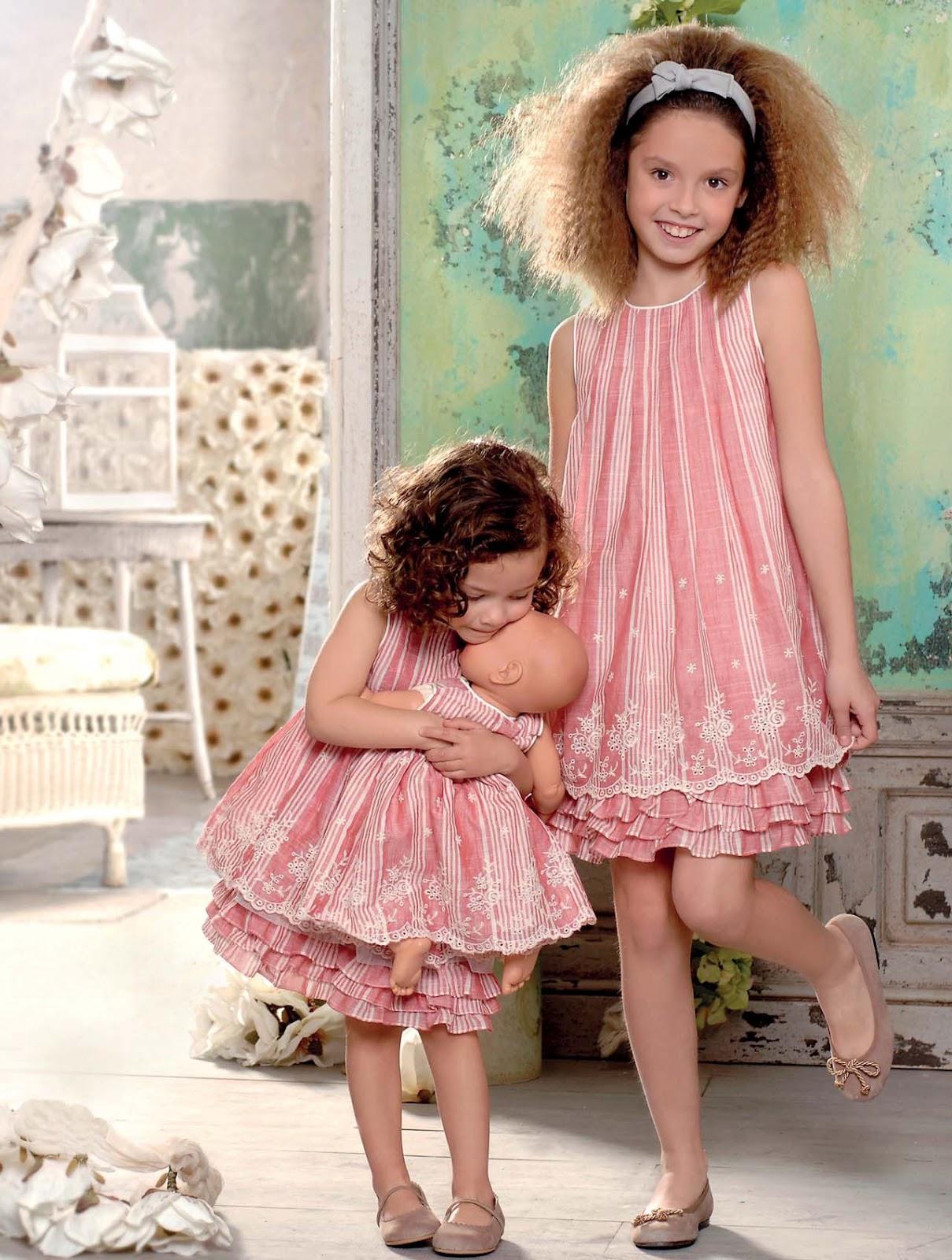 Moda adolescentes y ni os elegancia estilo primera - Catalogo telas el corte ingles ...
