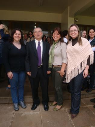 Secretário de educação _ Jose Clovis em Vacaria