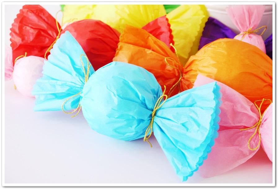 Manga por hombro decoraci n para mesa de golosinas i - Decoracion con caramelo ...