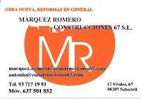 Márquez Romero Construcciones 67 S.L.