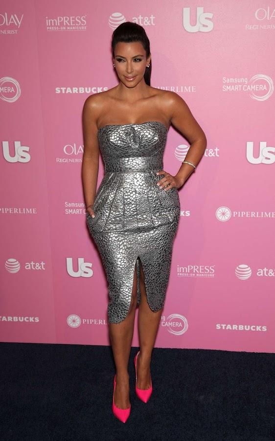 Kim Kardashian  Us Weekly Hot Hollywood Style Party 2012 photo