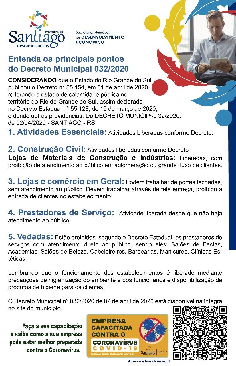 Resumo Decreto Coronavírus