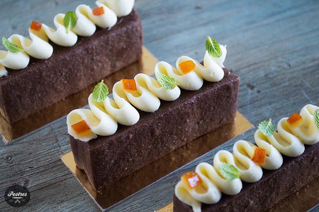 Mini Sablées de Chocolate y Naranja