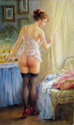 Derrier Pinturas De Desnudos Arte