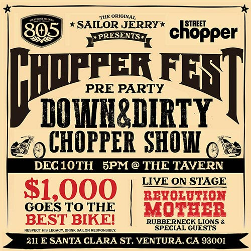 Street Chopper Pre-party