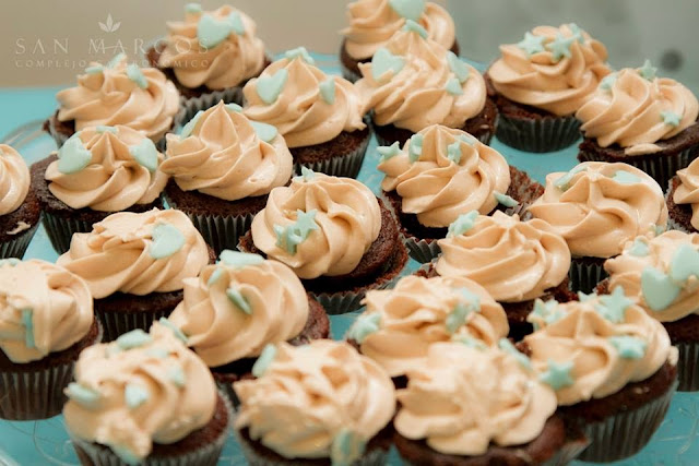 Cupcakes chocolate y smbc chocolate con leche