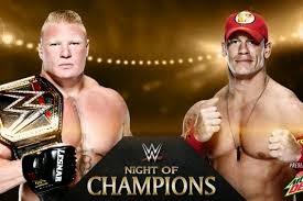 WWE Night Of Champions: John Cena Beats Brock Lesnar