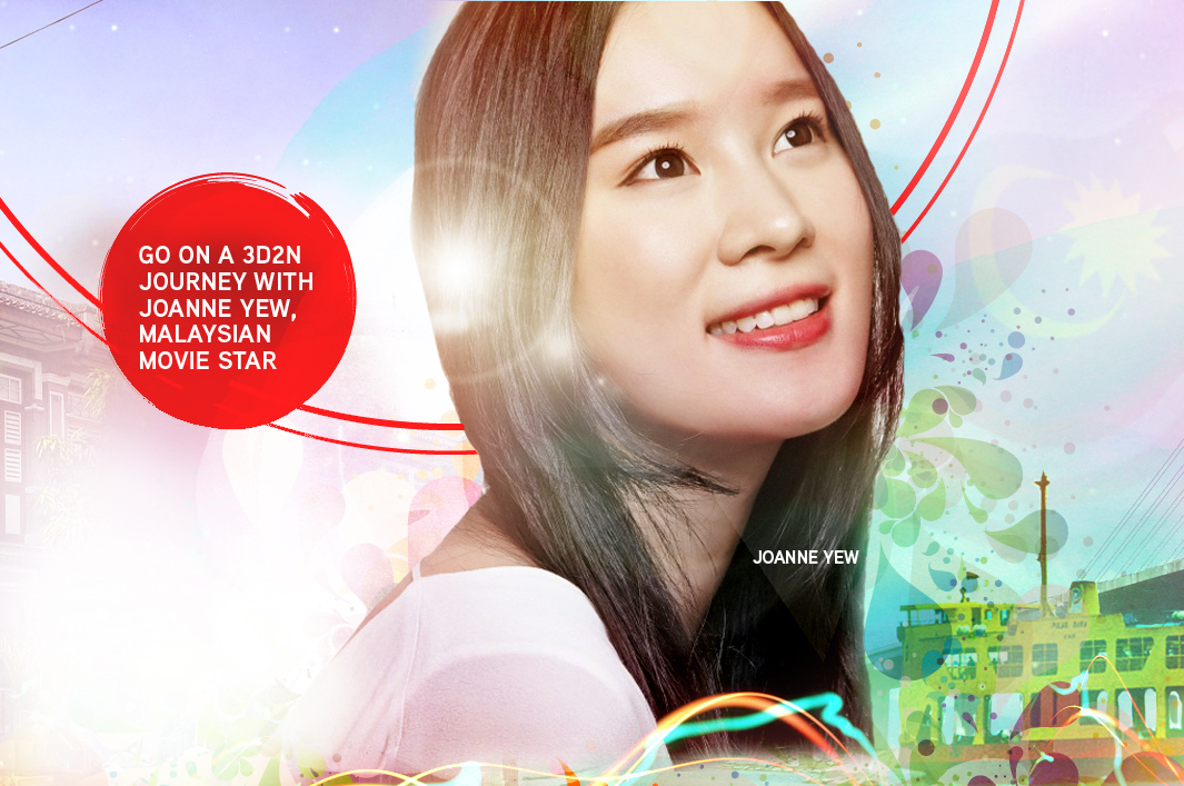 Win 3D2N Trip to Penang with Joanne Yew now before 4 Sep