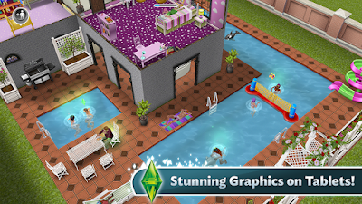 Game The Sims FreePlay v5.15.0 MOD APK Screenshot