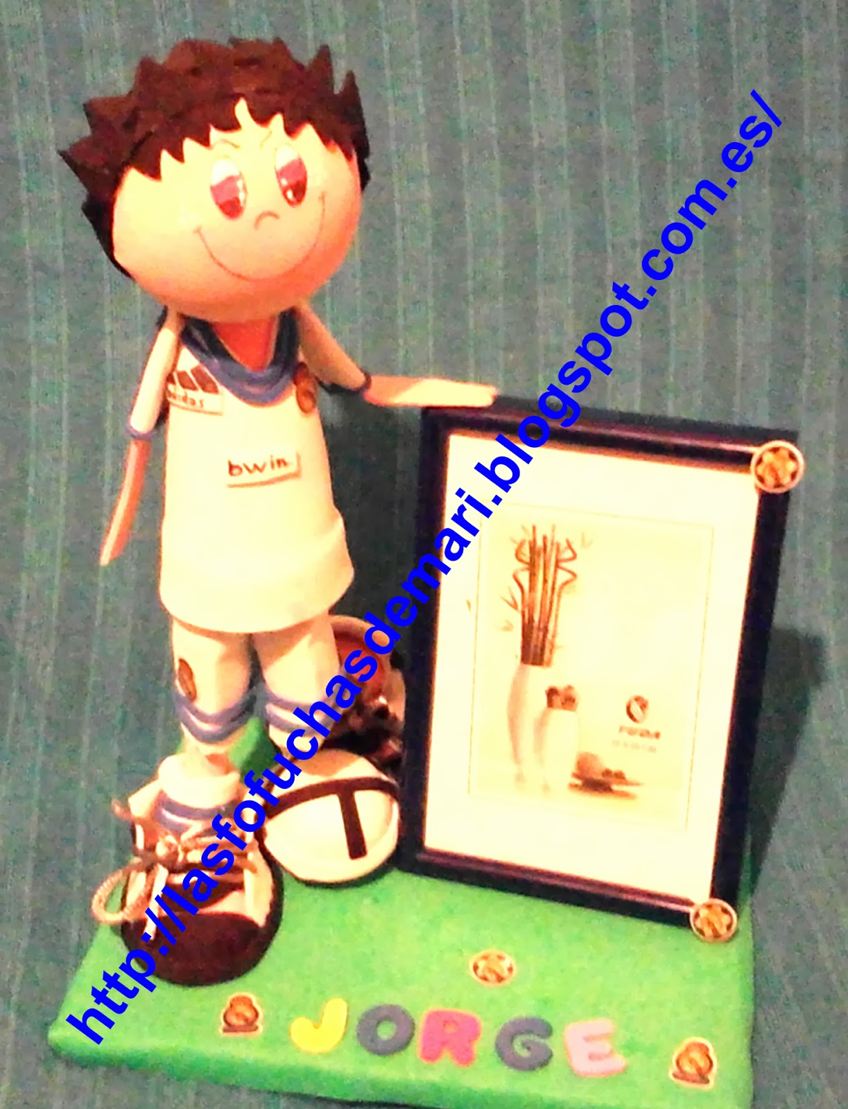Jugador Real Madrid personalizado: Jorge