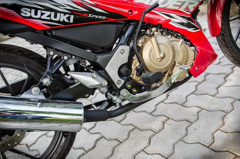 Suzuki Raider R150 nhap khau