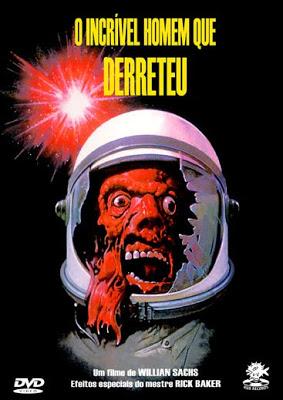 O INCRIVEL HOMEM QUE DERRETEU - 1977 - THE INCREDIBLE MELTING MAN