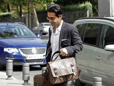 Reza Fazeli. Sahin's agent at the Bernabeu