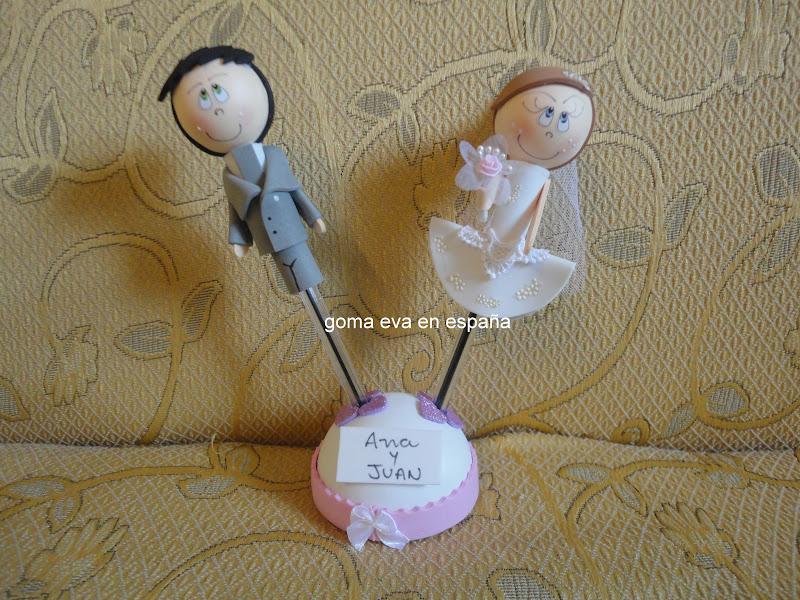 Goma eva en espa a detalles para bodas en goma eva - Detalles goma eva ...