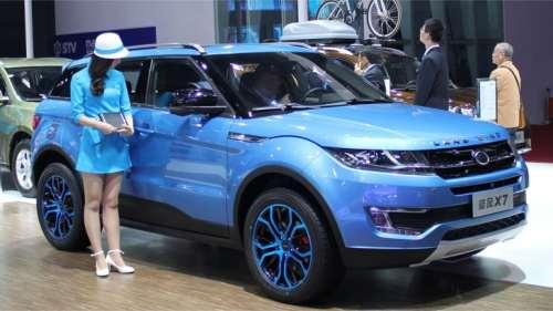 Landwind X7 masina copiata de chinezi de la Land Rover