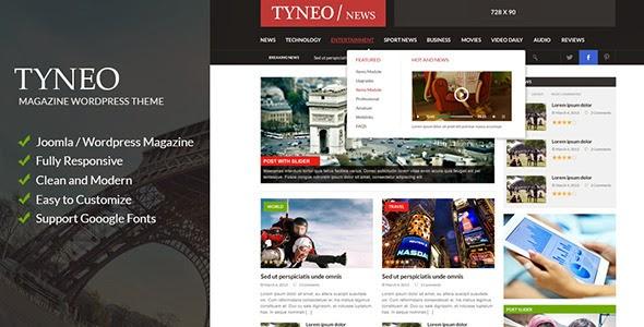 ST Tyneo – news, magazine joomla