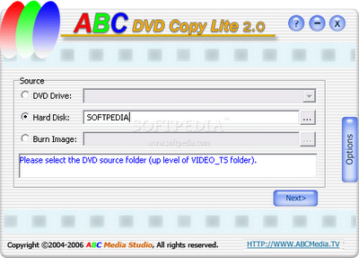 ABC DVD Copy Lite | free copying dvd software