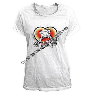 fashion-t-shirt-cewek-desain-kaos-love-jewel