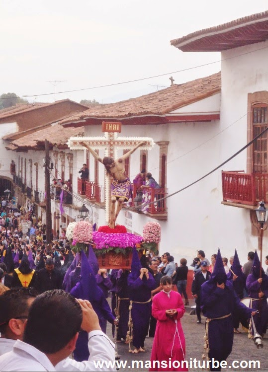 The Procession of Silence in Patzcuaro, Michoacan, Mexico