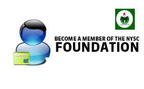 Every corps member ia also a part of the foundation...