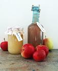 Äppelsaft och äppelmos