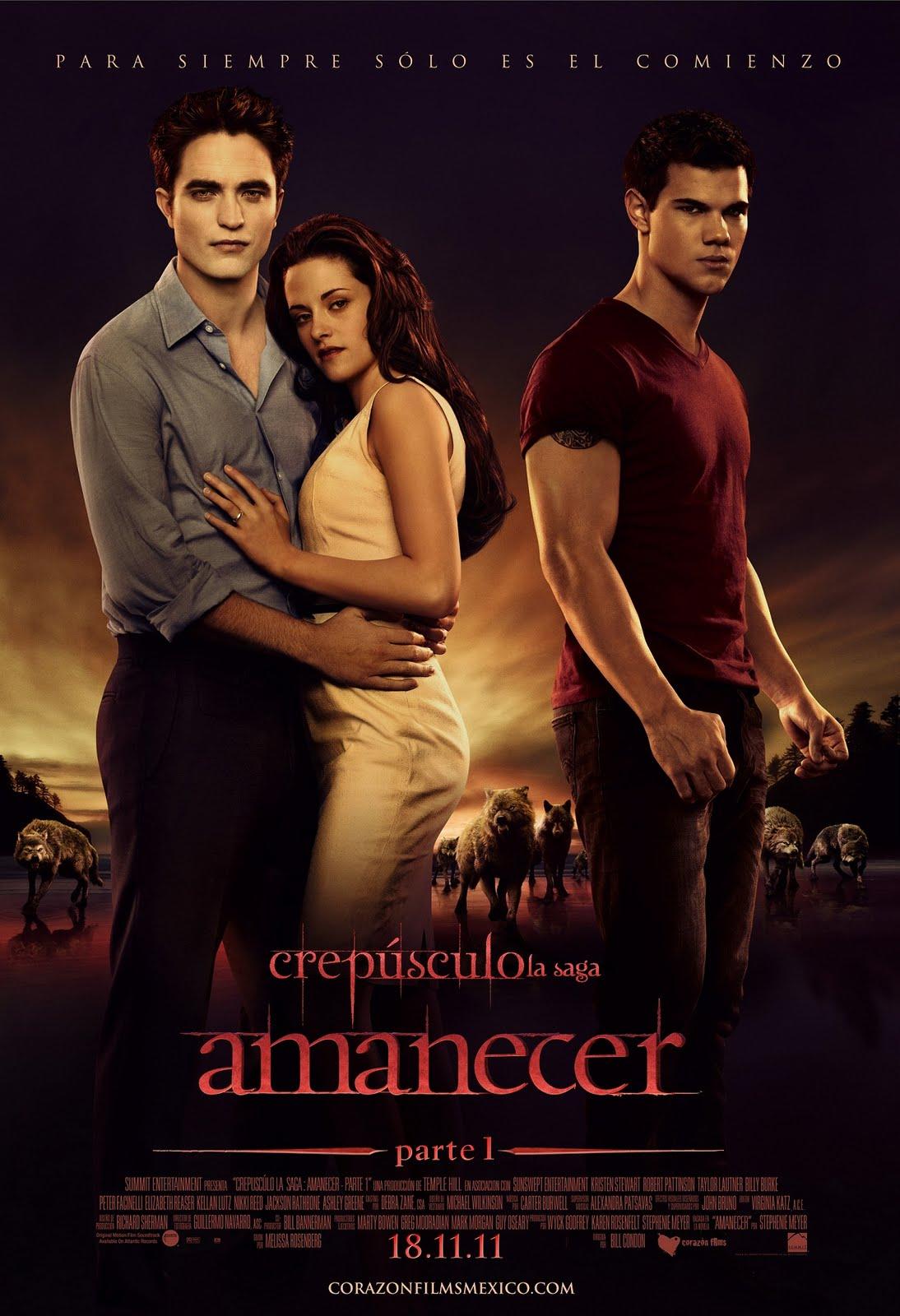 Crepúsculo – La Saga: Amanecer – Parte 1 (2011) DVDRip Español Latino