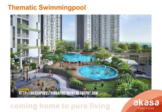 Akasa Pure Living Thematic Swimming Pool
