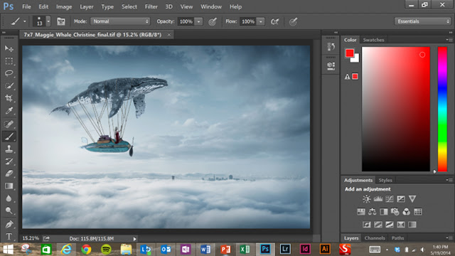 Adobe Photoshop 2015 v16.1.1 Tek Link Portable Full Türkçe İndir