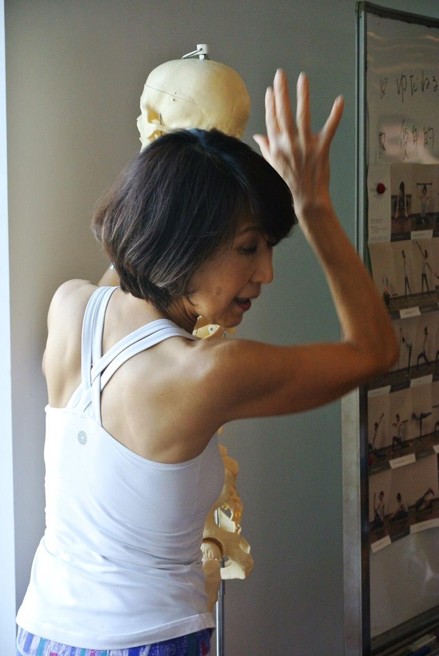 肩胛骨瑜珈