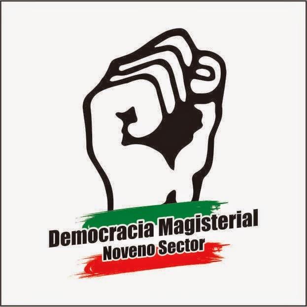 LOGO DE DEMOCRACIA MAGISTERIAL