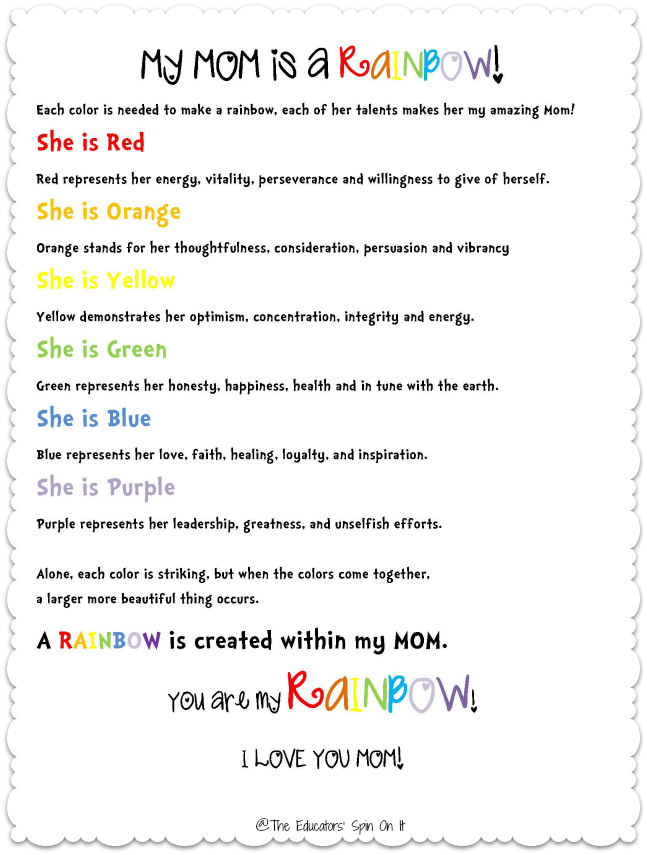 Mothers Day Poem And Craft on Best Dr Seuss Images On Pinterest School Diversity Cards