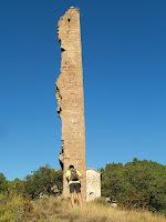 La Torre de Merola des de llevant amb el Joan de Manresa