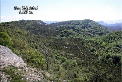 Vistas de San Kristobal y del camino recorrido