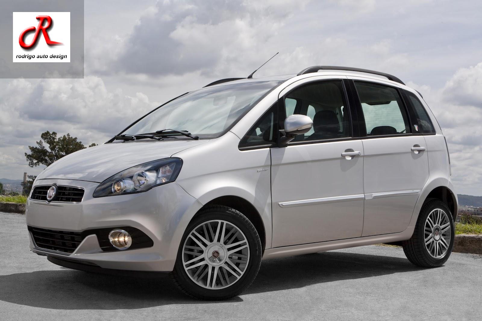 Rodrigo auto Design: Nova Fiat Idea 2014