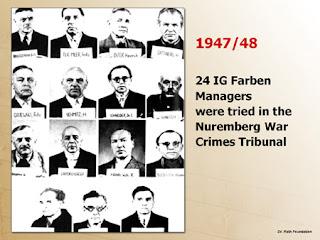Nuremberg; Nuremberga; Bayer; Basf; IG; Farben; War Criminals; Criminosos de Guerra; Condenados; Tribunal Nuremberg