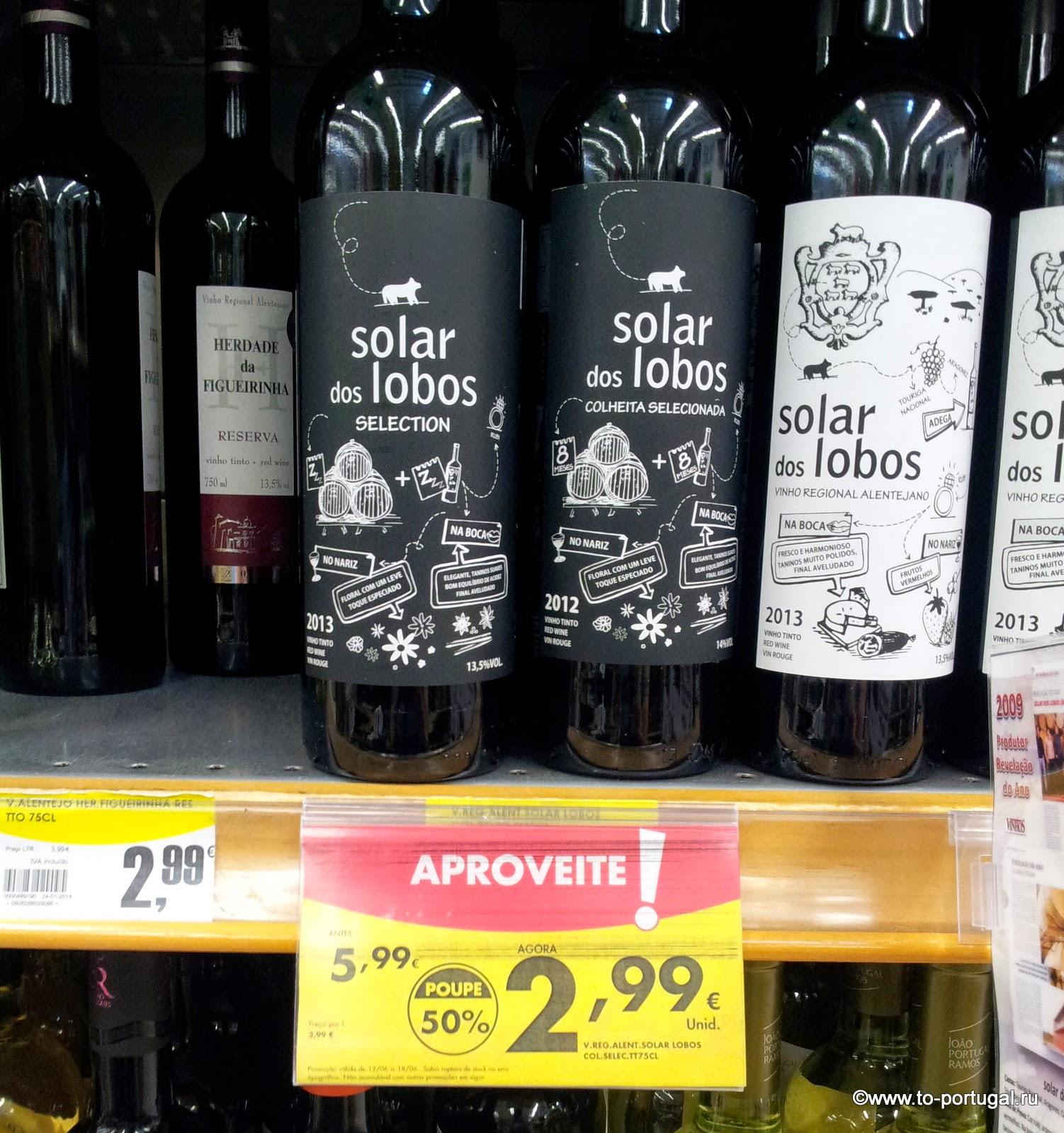 цены на португальское вино