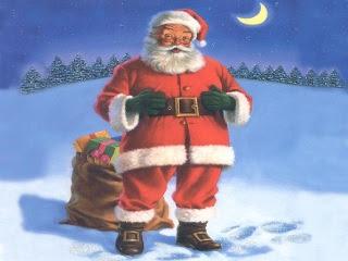 Božićne slike čestitke djed Mraz download Christmas Santa Claus