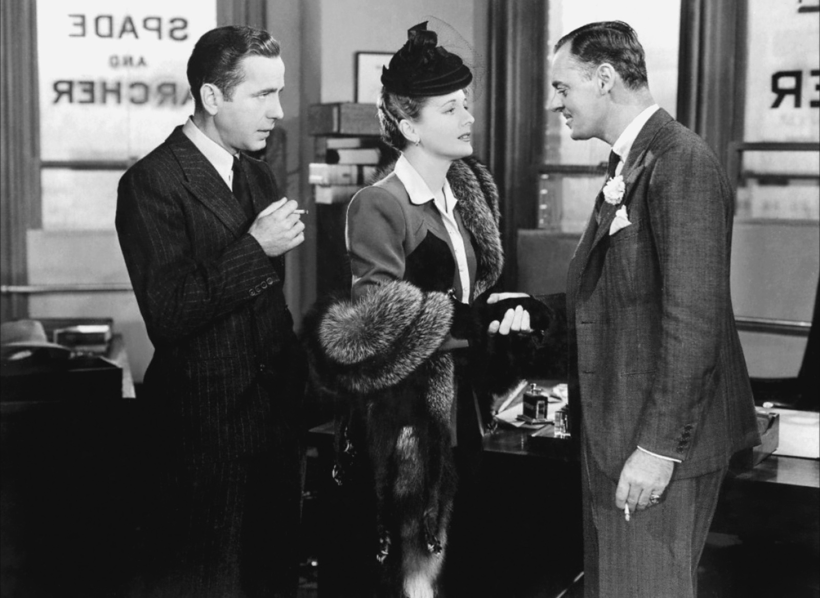 women in the maltese falcon Hammett's novel, the maltese falcon (1930), opens like a sherlock holmes story  an attractive and apparently helpless woman client comes to.