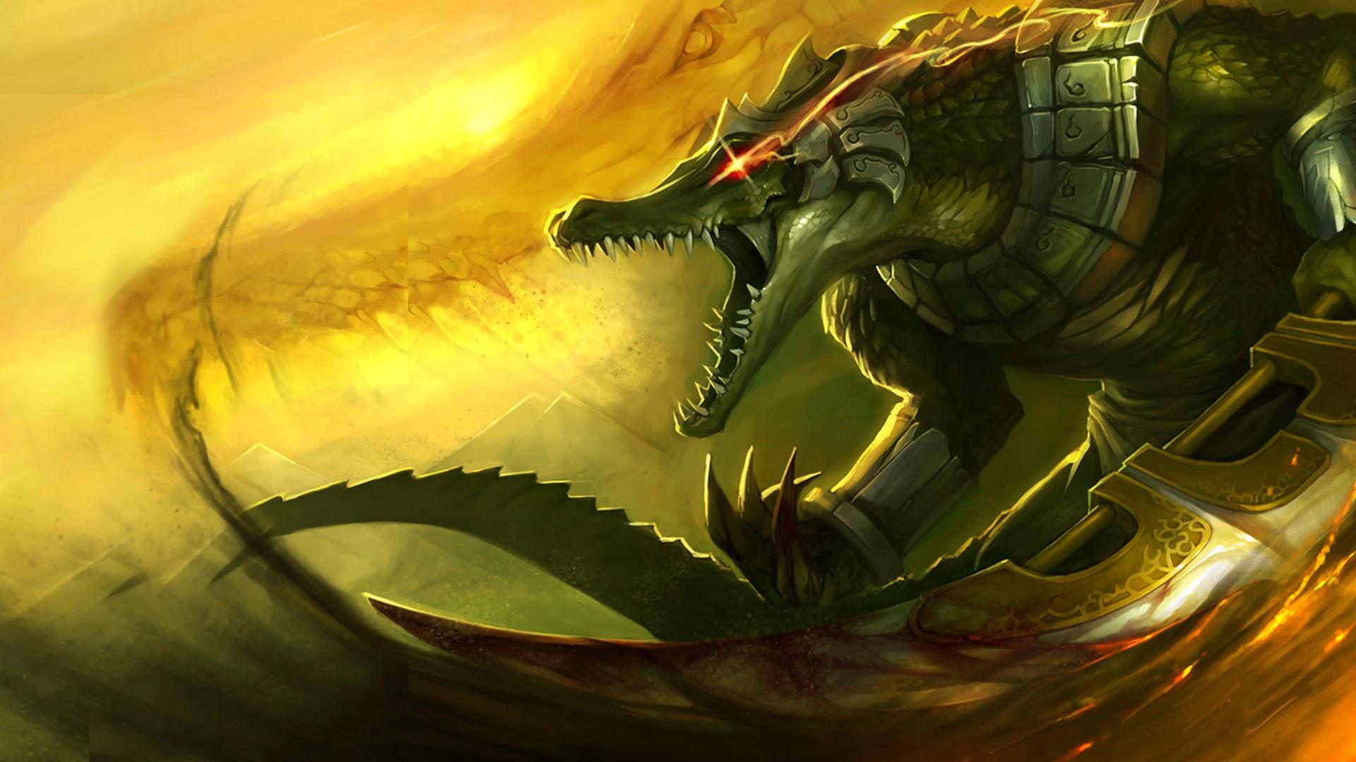 Renekton League of Legends 6j Wallpaper HD