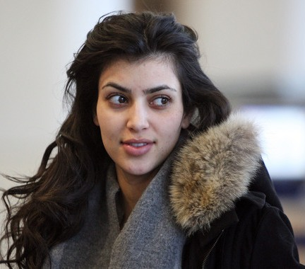 Kardashian   on Kim Kardashian Without Makeup   Celebrity Pictures