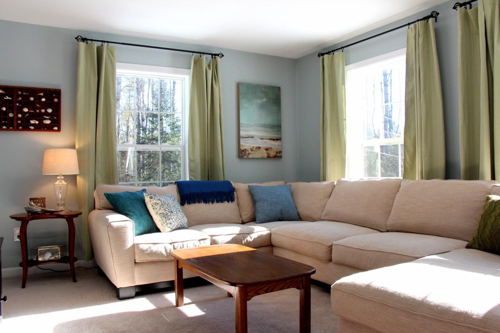 Upgrade Living Room: Heart Maine Home: Living Room Update